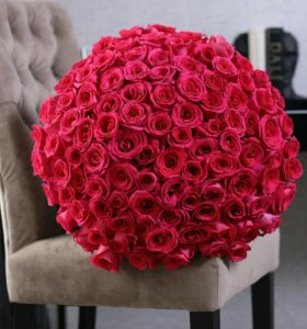 Цветы:101 роза