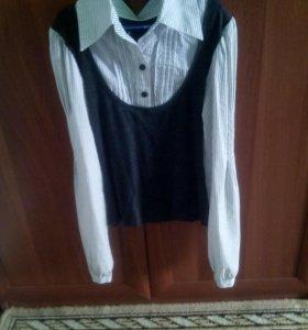 Блузы школьные