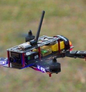 Квадрокоптер для гонок и сьемок