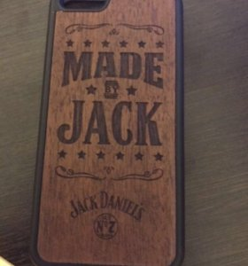Чехол с деревянной вставкой для iPhone 6/6S