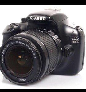 Фотоаппарат зеркальный Canon EOS 1100D Kit