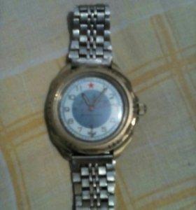 Часы командирские водонепроницаемые механические
