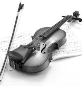 Уроки игры на скрипке и фортепиано