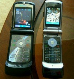 Motorola Razr V3 и krazr K1