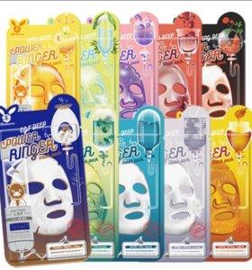 Тканевые маски.