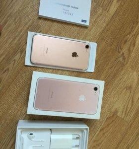 Новый! Оригинал! iPhone 7 32 GB Rose gold