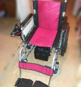 Инвалидное кресло с электроприводом НОВОЕ