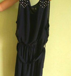 Продам 2 платья!Синее и белое