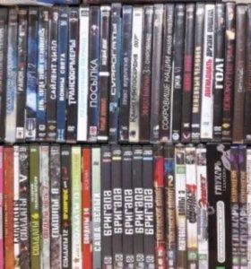 Диски DVD, фильмы и сериалы