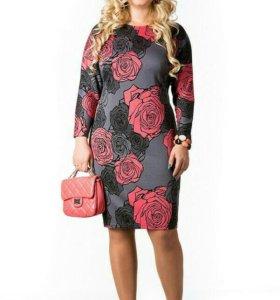 Продам новое платье 58р