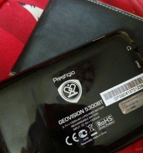 Портативный GPS-навигатор Prestigio GeoVision 5300
