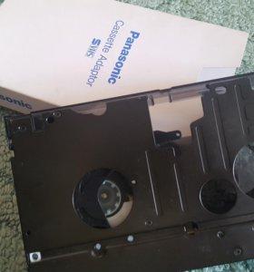 Panasonic cassette adapter vhs