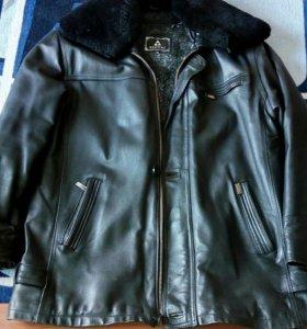 Кожаная куртка мужская 50 р-р