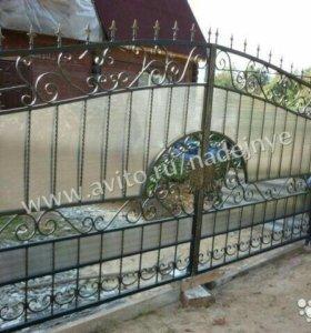 Кованые ворота артикул 49