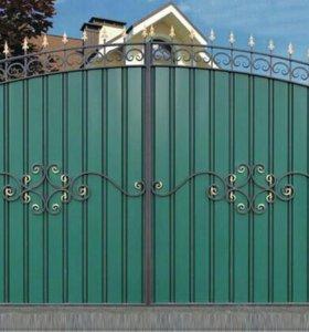 Кованые ворота артикул 43