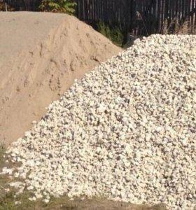 Песок,гравий,щебень