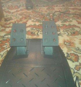 Игровой руль с пидалими