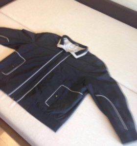 Демисезонная куртка для больших мужчин 64-й размер