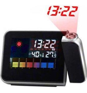 Метеостанция с проектором часов