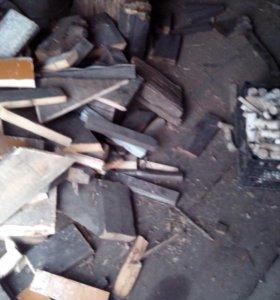 дрова в мешках