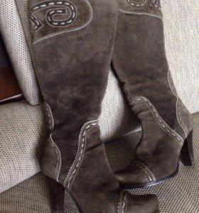 Фирменные зимние сапоги 36 размер