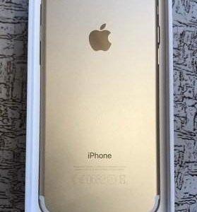 7 iPhone 256gb. Replika.золотая