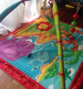 Развивающий коврик, вставка для купания,кенгурушка
