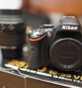 Nikon D5100 AF-S DX Nikkor 18-55