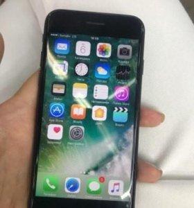 Черный iPhone 7 реплика.новый.