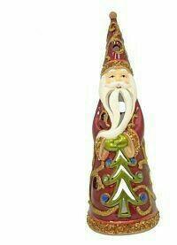 """Подсвечник """"Дед Мороз"""", 20 см, новый"""