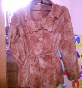 Куртка под замшу в отл. состоянии