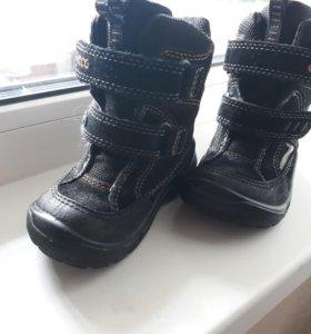 ecco ботинки 22р.