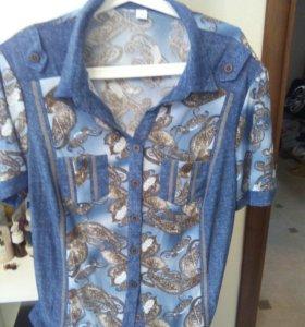Блуза Новая 58р
