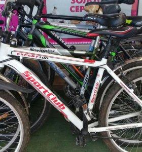 Велосипеды в ассортименте