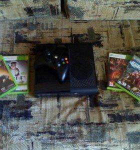 Продам Xbox 360+500G+4 игры