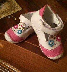 Туфли детские новые!