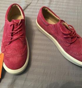 Новые туфли- замша
