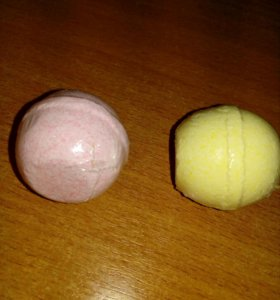шипучие шарики для ванной