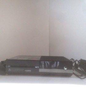 Xbox one+2джойстика+10игр+гарнитура+HDMI!!!