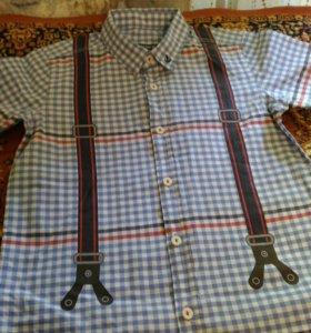 Новая рубашка (LC Waikiki) 5-6 лет 110-116 рост