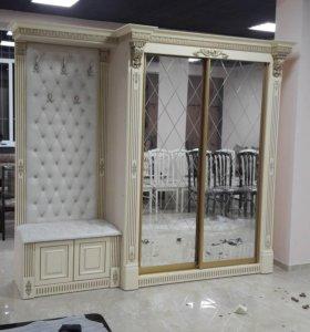 Шкафы-купе, Кухни, столы, стулья, прихожие, мног