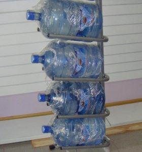 Стеллаж стойка для бутылей