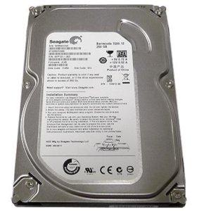 Жесткий диск 250 GB для ПК