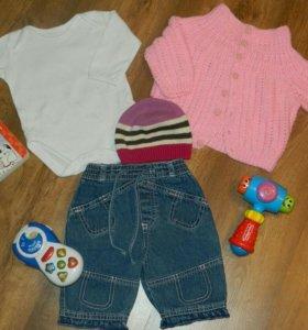 Вещи пакетами для девочки