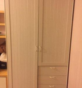 Шкаф белый икея