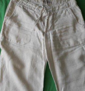Льняные мужские  штаны бесплатно