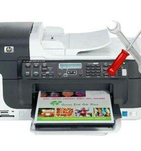Ремонт струйных и лазерных принтеров.