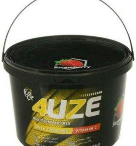 Протеин 4UZE банка 3 кг