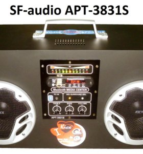 Мощный бумбокс SF-audio APT-3831S.