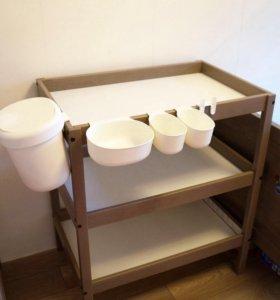 Пеленальный столик Сундвик ИКЕА